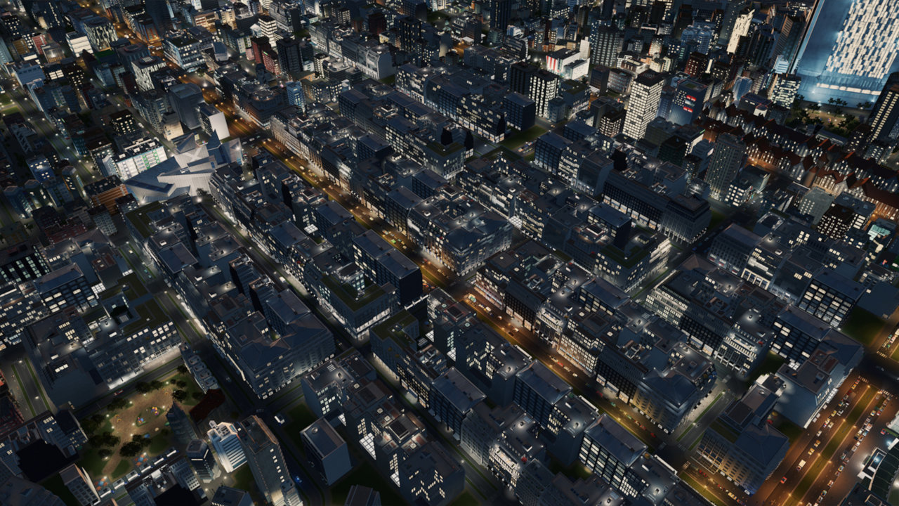 Cities: Skylines Modern City Centre screenshot