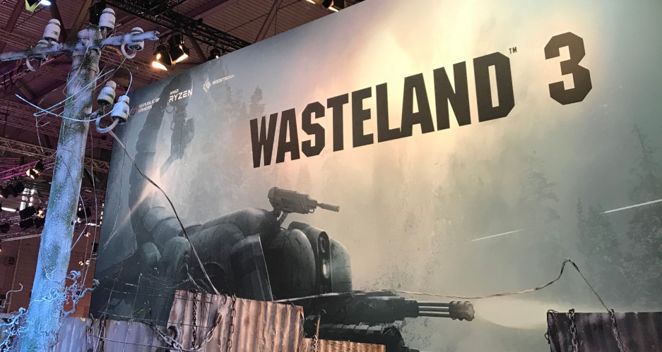 Wasteland 3 booth at Gamescom 2019