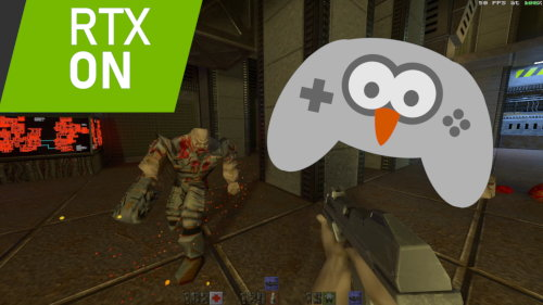 Thumbnail for post: Quake II RTX comparison and gameplay