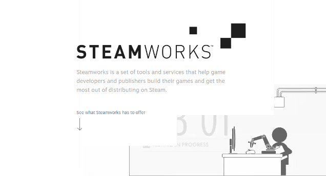 Thumbnail for post: Valve does some advertising for Steamworks