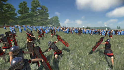 Thumbnail for post: Total War: Rome Remastered is coming to Linux on day one